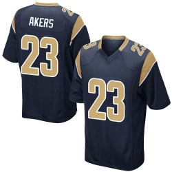 Nike Cam Akers Los Angeles Rams Men's Game Navy Team Color Jersey