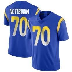 Nike Joseph Noteboom Los Angeles Rams Men's Limited Royal Alternate Vapor Untouchable Jersey