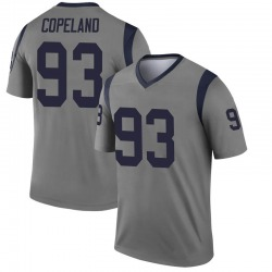 Nike Marquise Copeland Los Angeles Rams Youth Legend Gray Inverted Jersey